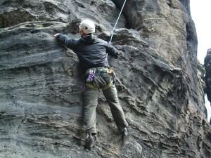 Klettern im Bilathal